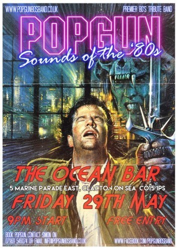 Popgun Sounds of 80s Tribute Band